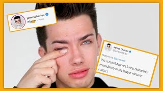 James Charles sues A FAN