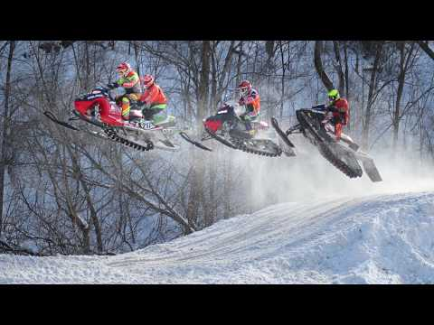 February 2020 - The Snocross and Ski Jump near BAPI