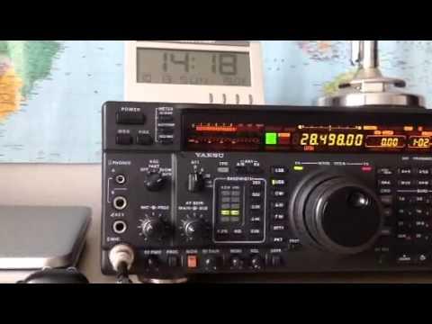 AB1OC New Hampshire USA Yaesu FT-1000MP Amateur Radio