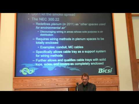 Cable Pathways and the NEC    PRESENTATION