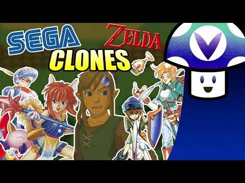 [Vinesauce] Vinny - Sega Zelda Clones