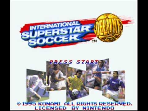 International Superstar Soccer Deluxe SNES Menu Music