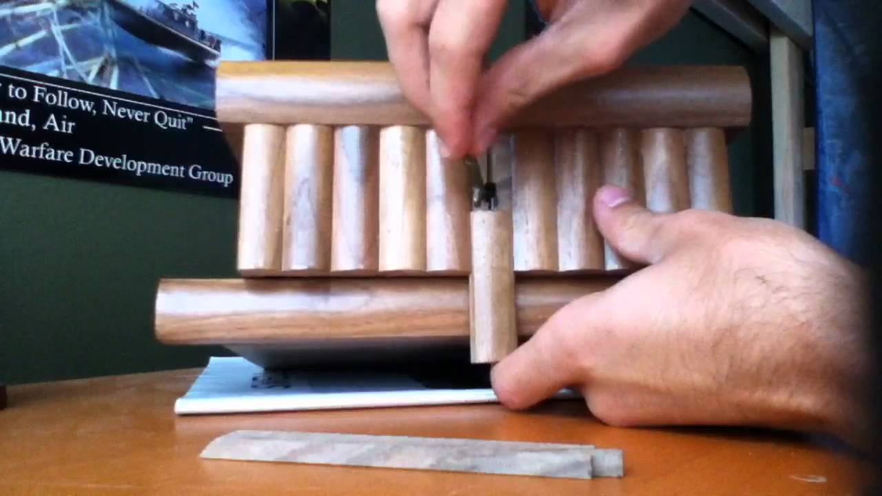 Amazing Turkish puzzle box YouTube