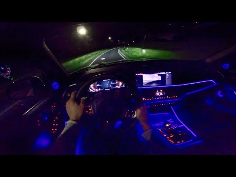 NEW! BMW X5 M50d G05 NIGHT DRIVE POV - AMBIENT LIGHTING by AutoTopNL