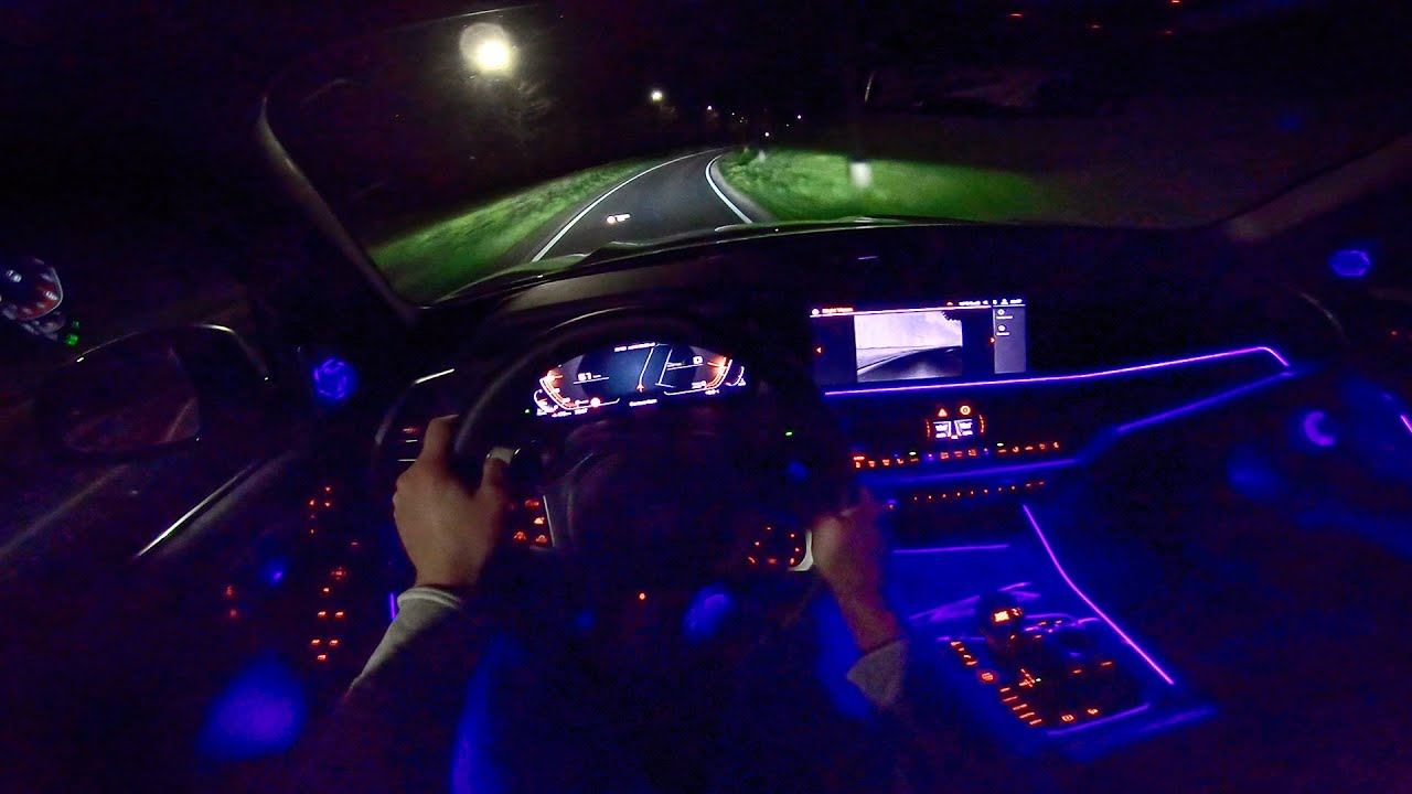 New Bmw X5 M50d G05 Night Drive Pov Ambient Lighting By
