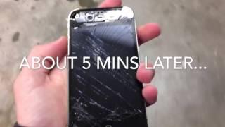 Iphone 4s Water Test + Destruction!