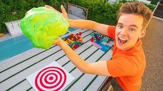 SLIME BALL DROP TEST!!