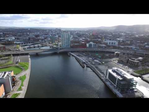 Titanic Belfast and Obel Tower