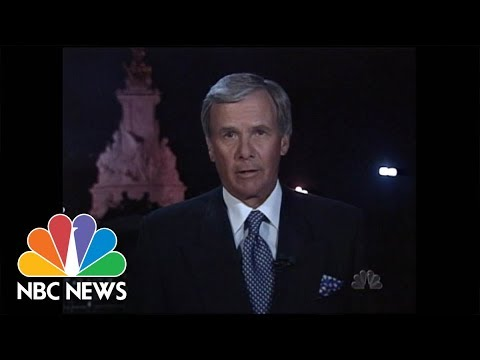 ARCHIVES: Tom Brokaw Reports On Princess Diana's Death | NBC News
