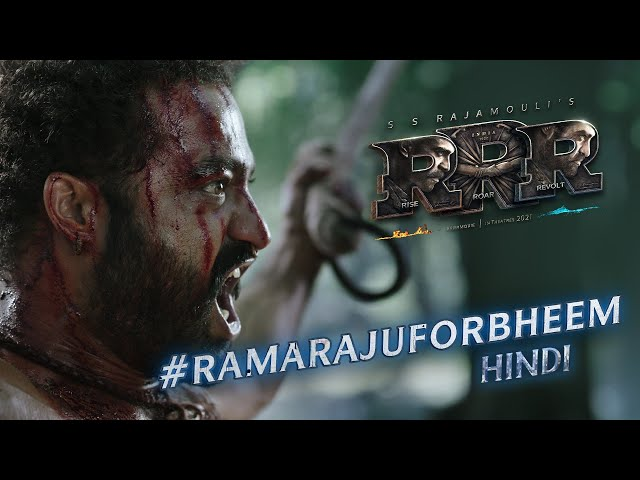 Ramaraju For Bheem - Bheem Intro - RRR Movie | NTR, Ram Charan, Ajay Devgn,Alia Bhatt | SS Rajamouli