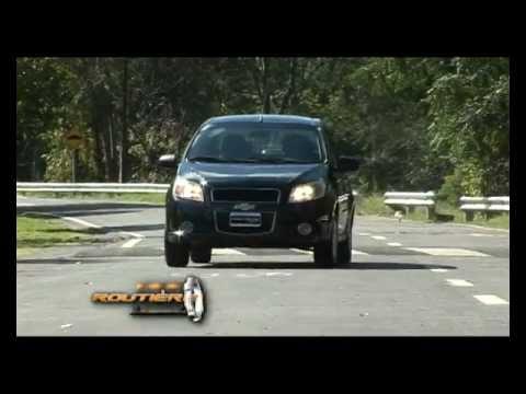 Routiere Test Chevrolet Aveo G3 Lt Pgm 163m2p Youtube