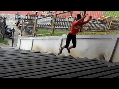 long jump training performance - YouTube