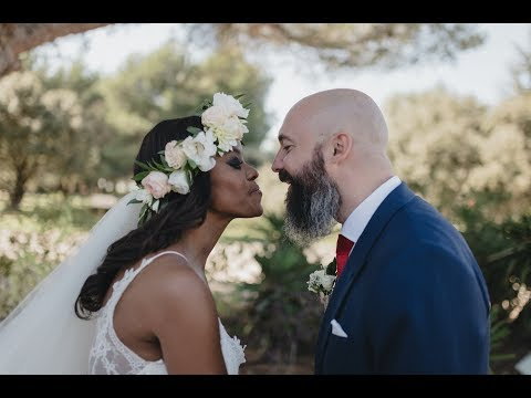 Nadia + Julien | AFRO-FRENCH Couple | Wedding Video