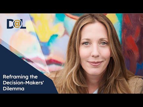 Design@Large: Jennifer Mueller: Reframing the Decision-Makers' Dilemma: