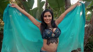 Interactive Belly Dancer/Snake Charmer for Yoga Studio Party