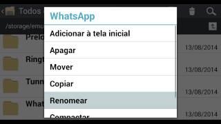 Instalar 2 WhatsApp no mesmo celular.