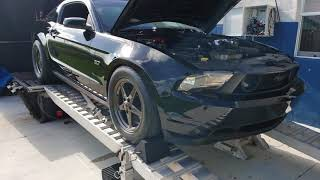 2011 Mustang GT with Cobra jet intake and cams with E85