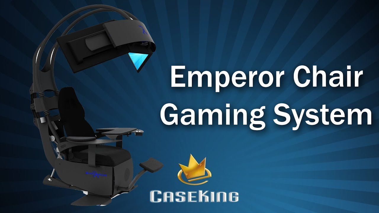 Sessel Pc Emperor Chair Gaming System - Caseking Tv - Youtube