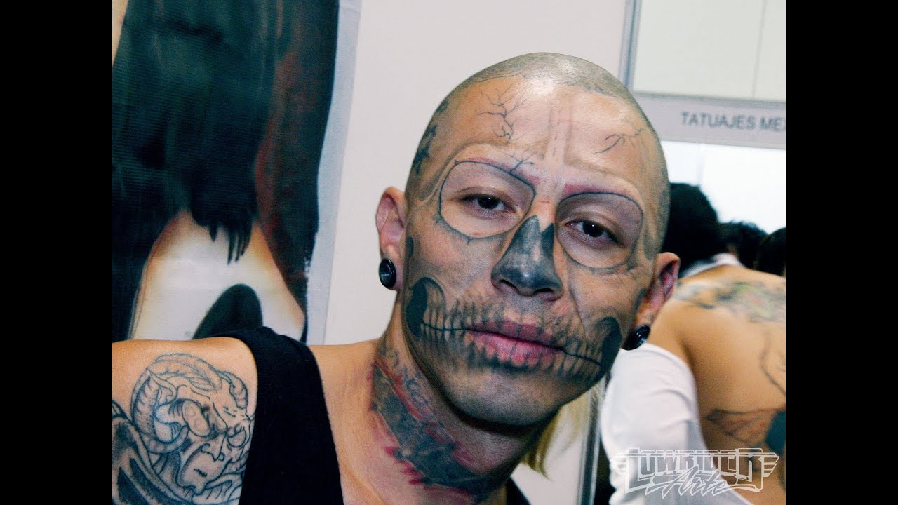 Face Tattoo Compilation - Art or Insane? - YouTube