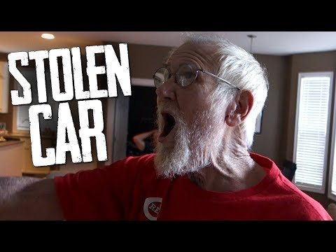 GRANDPA'S DREAM CAR WAS STOLEN!!!