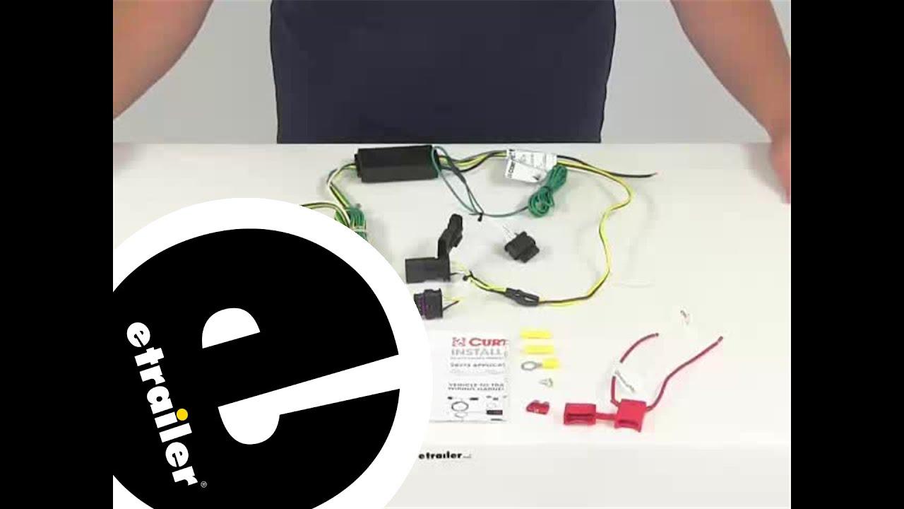 2014 Jeep Patriot Trailer Wiring Electrical Diagrams Demo Curt Custom Fit Vehicle C56274 Etrailer Com Youtube Subaru Impreza
