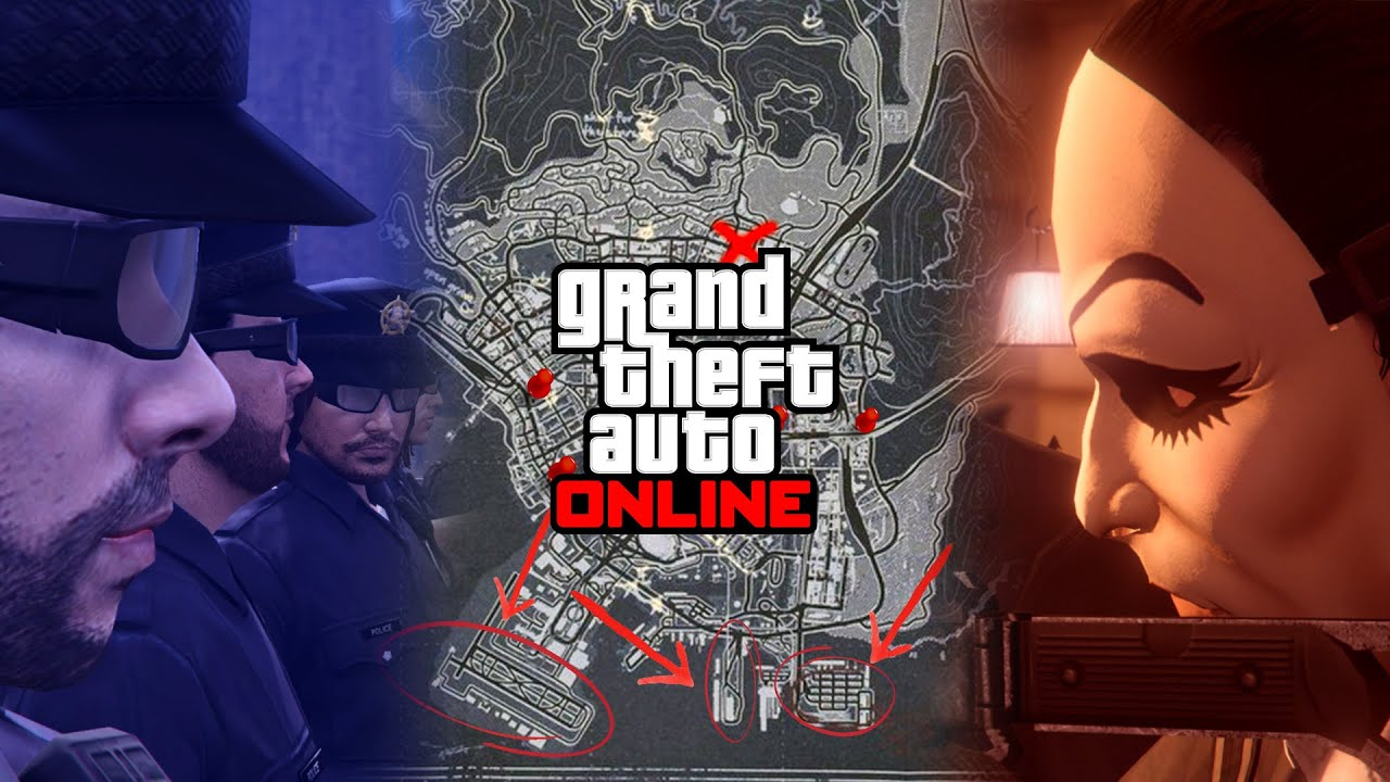 It might be IMPOSSIBLE to survive this Manhunt in GTA 5 Online (Cops n Crooks)