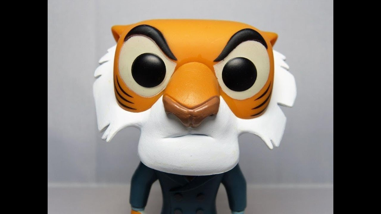 Shere Khan Disney Talespin Funko Pop Vinyl Review Youtube