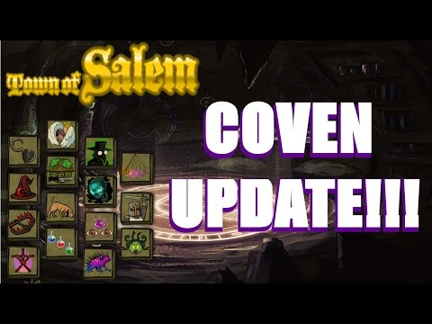 Coven Update!!!! Town of Salem HUGE Update
