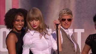 "Taylor Swift Performs ""Never Ever"" on Ellen"