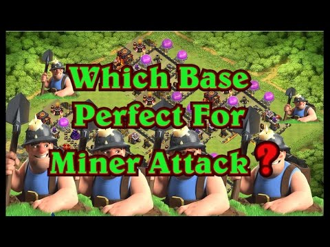 Wich Base Perfect For Miner 3 Star TH10
