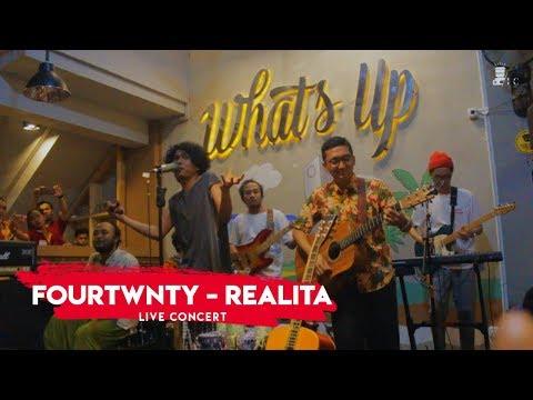 Fourtwnty - Realita [LIVE]