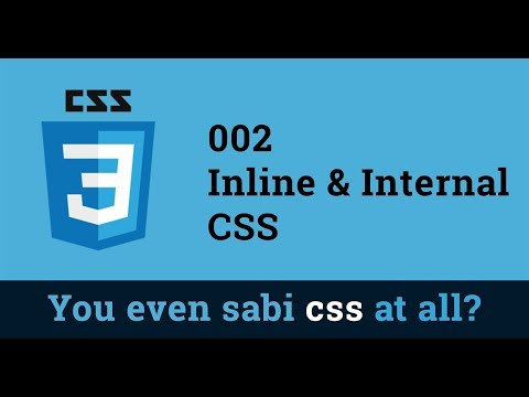 002   Inline And Internal Css