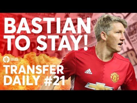 Bastian Schweinsteiger, Ashley Young, Icardi | Manchester United Transfer News | Transfer Daily #21