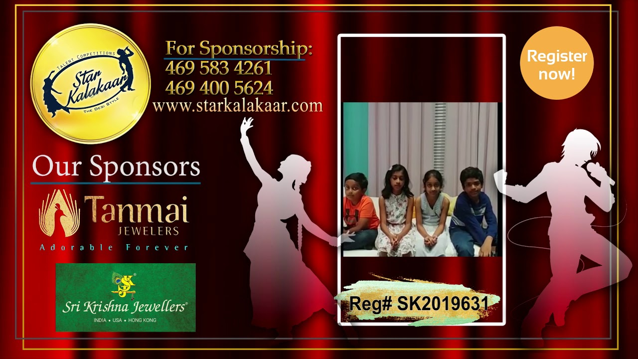 Registration NO - SK2019631 - Introduction Videos StarKalakaar-2019 #SK2019