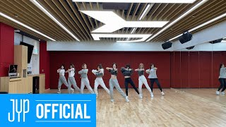 "TWICE ""I CAN'T STOP ME"" Dance Practice Video"