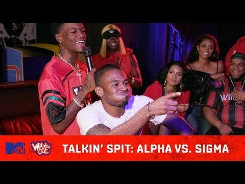 Sigma vs Alpha: Who's Talkin' the Most Spit? 💦   Wild 'N Out   #TalkinSpit