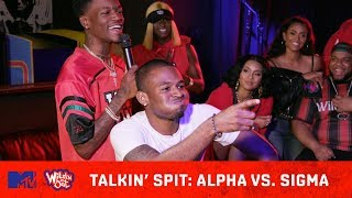 Sigma vs Alpha: Who's Talkin' the Most Spit? 💦 | Wild 'N Out | #TalkinSpit