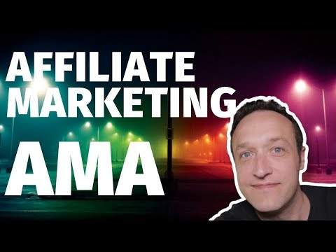 AFFILIATE MARKETING ASK ME ANYTHING Q&A thumbnail