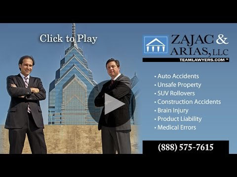 Philadelphia Law Firm Zajac & Arias Featurette - Accident Victims Case Studies and Testimonials