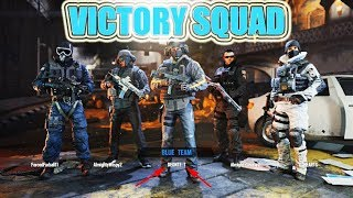 VICTORY SQUAD!! RAINBOW SEX SIEGE MULTIPLAYER 🦍 GAME PLAY