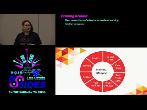PG – The Current State of Adversarial Machine Learning – Heather Lawrence