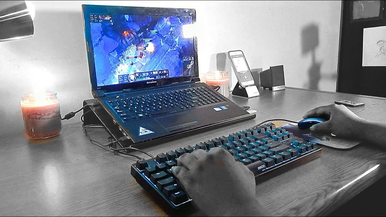 Old Laptop Gaming Setup Youtube