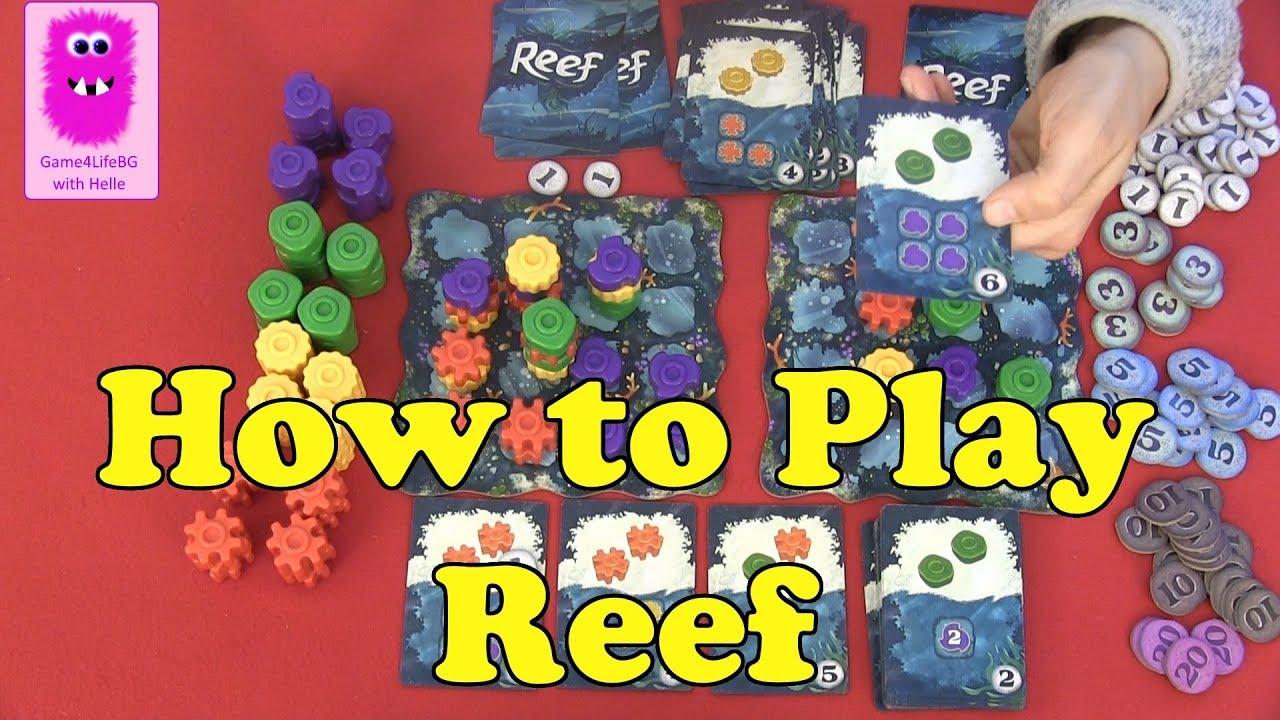 reef board game