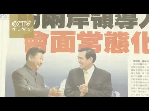 Xi and Ma dominate Taiwan media
