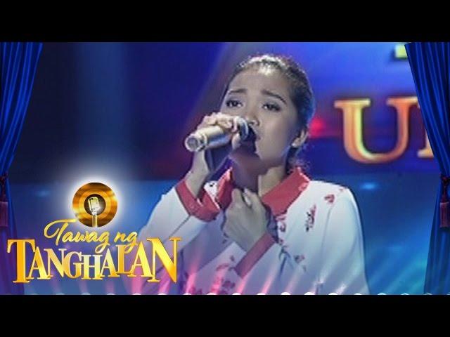 Tawag ng Tanghalan: Joylaine Canonio | Tell Him (Ultimate Resbak)