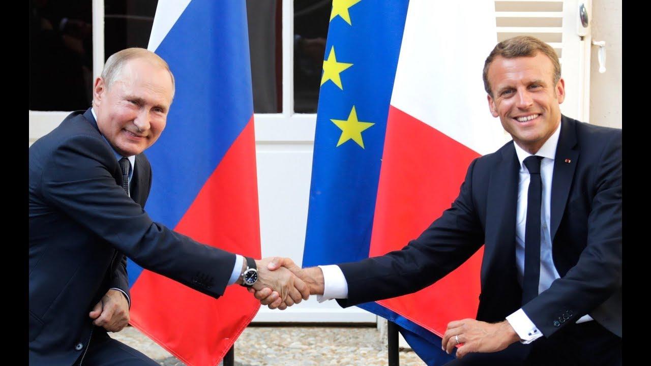 Президенты России и Франции сделали заявления для прессы и ответили на вопросы журналистов