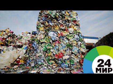 Везде Челябинск: На Земле ежегодно прибавляется миллиард тонн мусора - МИР 24
