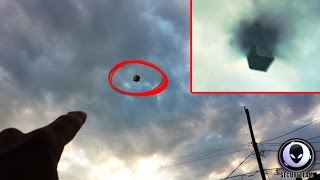 [MIND-BOGGLING] Black Portal & Alien Cube UFO Over Texas! 6/29/2015
