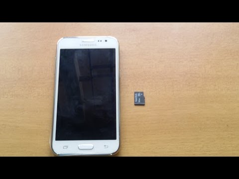 Samsung Galaxy J2  Test Memory  6432 GB Memory card Support  Testing Mobile Tutorial