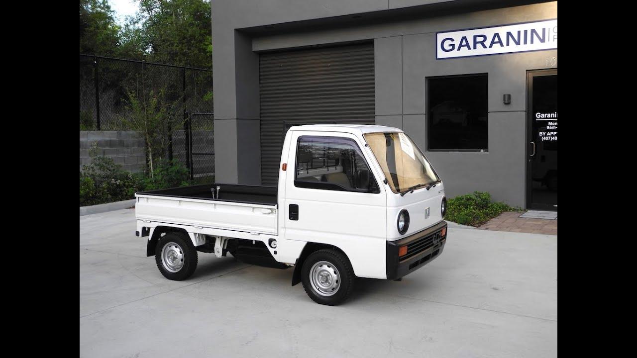 1990 honda acty sdx pick up flat bed kei mini truck youtube. Black Bedroom Furniture Sets. Home Design Ideas